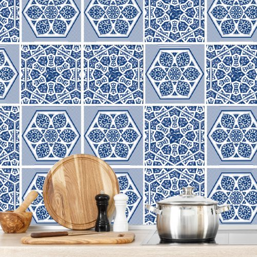 Fliesenaufkleber_Küchenwand_#blue 01