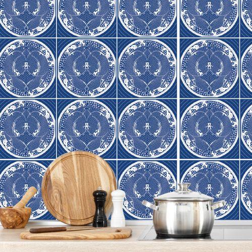 Fliesenaufkleber_Küchenwand_#blue 02