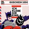 Verklebe Gutschein 100€