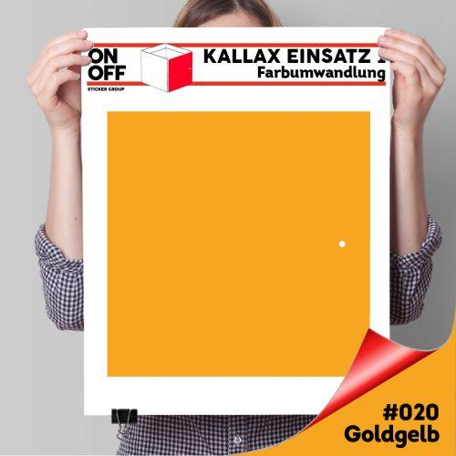 Kallax Einsatz 1 TÜR (631) #020 Goldgelb