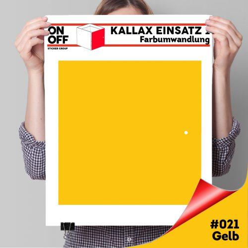 Kallax Einsatz 1 TÜR (631) #021 Gelb