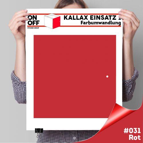Kallax Einsatz 1 TÜR (631) #031 Rot