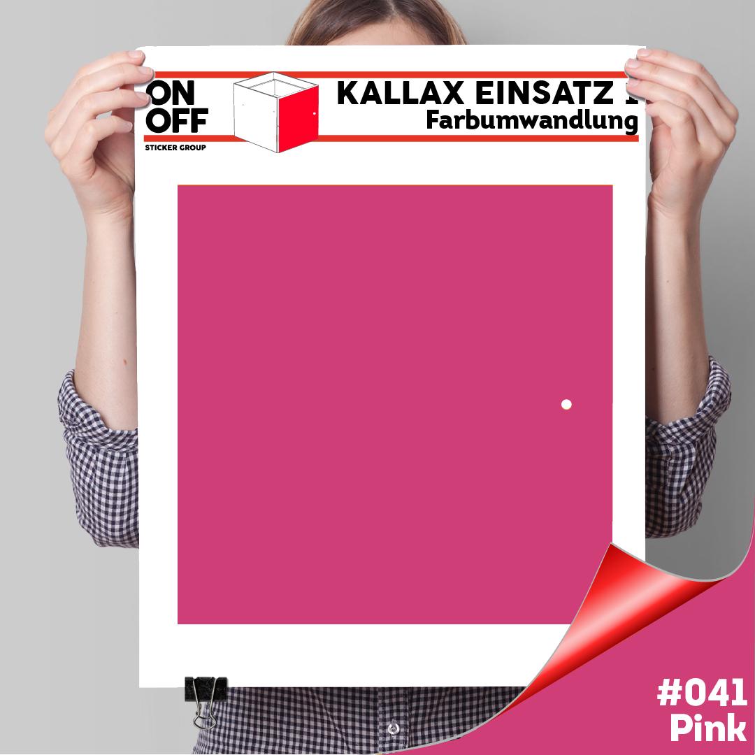 Kallax Einsatz 1 TÜR (631) #041 Pink