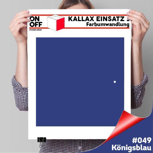 Kallax Einsatz 1 TÜR (631) #049 Königsblau