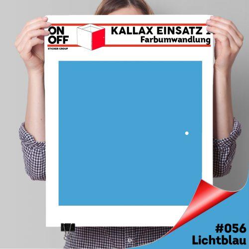 Kallax Einsatz 1 TÜR (631) #056 Lichtblau