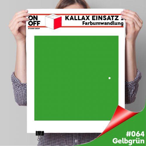 Kallax Einsatz 1 TÜR (631) #064 Gelbgrün