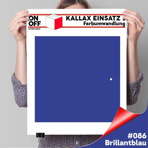 Kallax Einsatz 1 TÜR (631) #086 Brillantblau