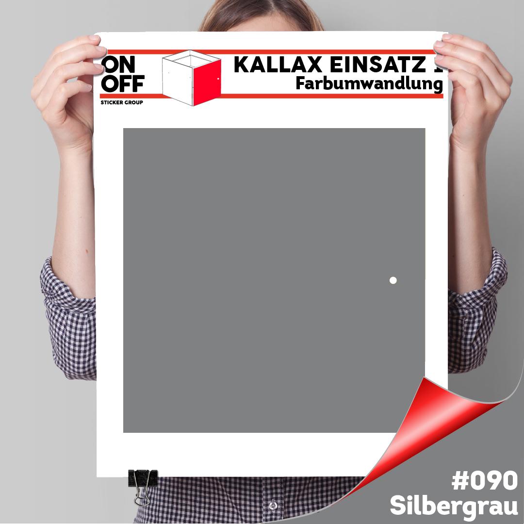 Kallax Einsatz 1 TÜR (631) #090 Silbergrau