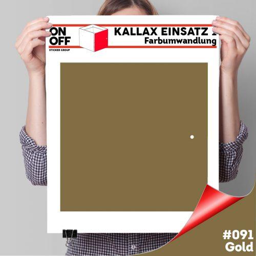 Kallax Einsatz 1 TÜR (631) #091 Gold