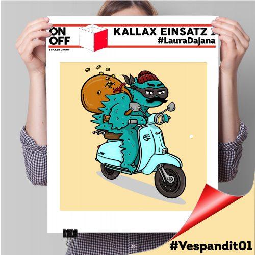 Kallax Einsatz 1 TÜR #LauraDajana#Vespandit01