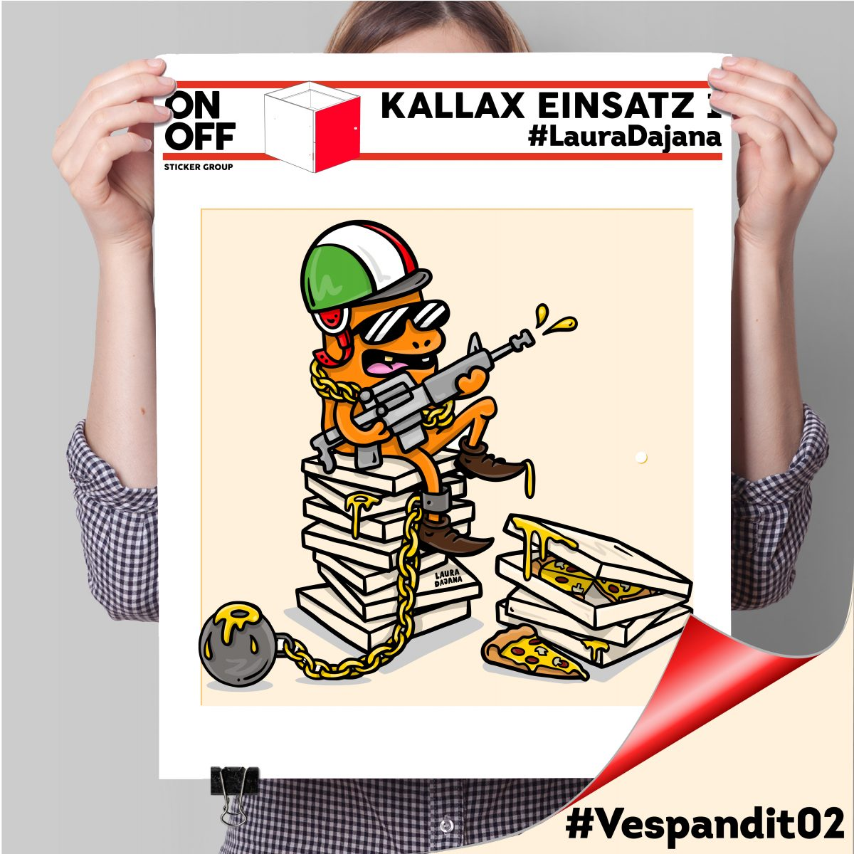 Kallax Einsatz 1 TÜR #LauraDajana#Vespandit02