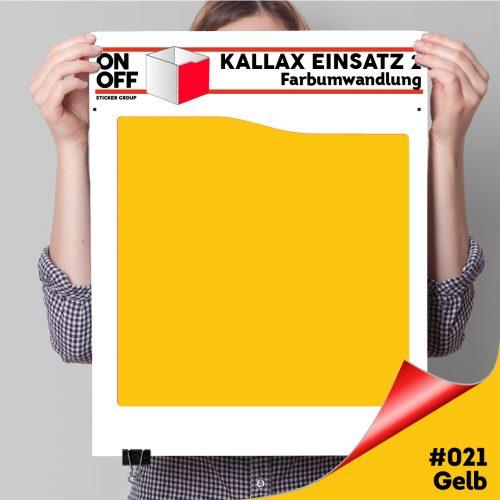 Kallax Einsatz 2 (Welle) #021 Gelb