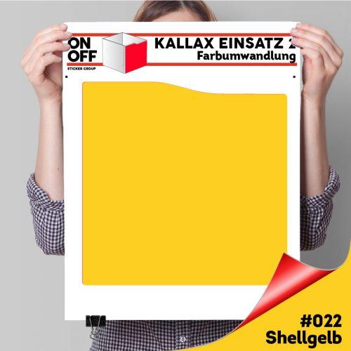 Kallax Einsatz 2 (Welle) #022 Shellgelb