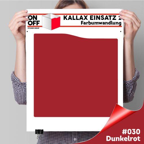 Kallax Einsatz 2 (Welle) #030 Dunkelrot