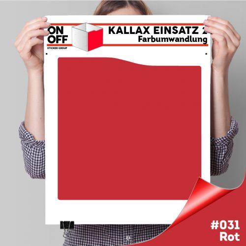 Kallax Einsatz 2 (Welle) #031 Rot