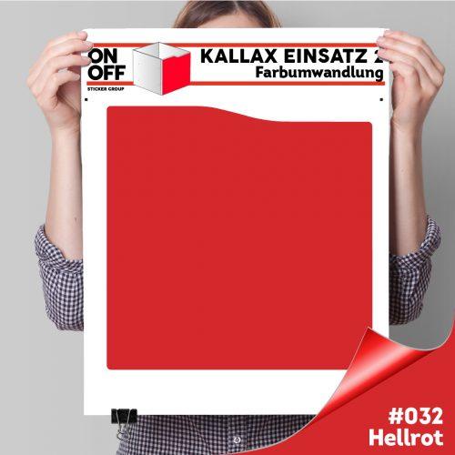 Kallax Einsatz 2 (Welle) #032 Hellrot