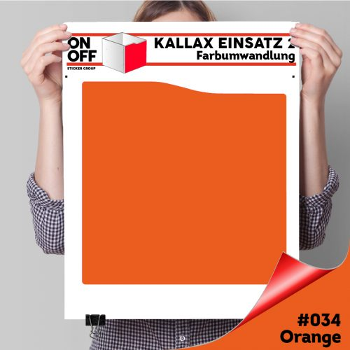 Kallax Einsatz 2 (Welle) #034 Orange