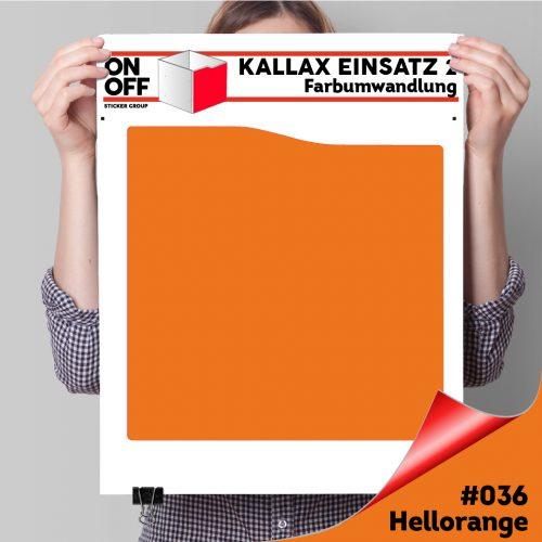 Kallax Einsatz 2 (Welle) #036 Hellorange