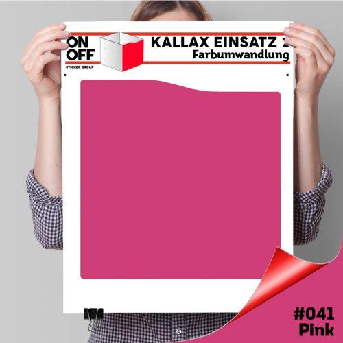 Kallax Einsatz 2 (Welle) #041 Pink
