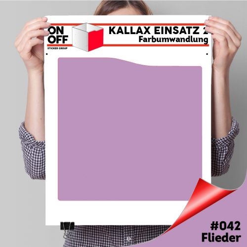 Kallax Einsatz 2 (Welle) #042 Flieder