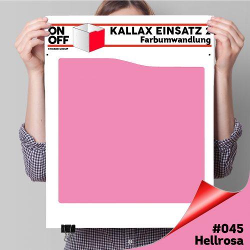 Kallax Einsatz 2 (Welle) #045 Hellrosa