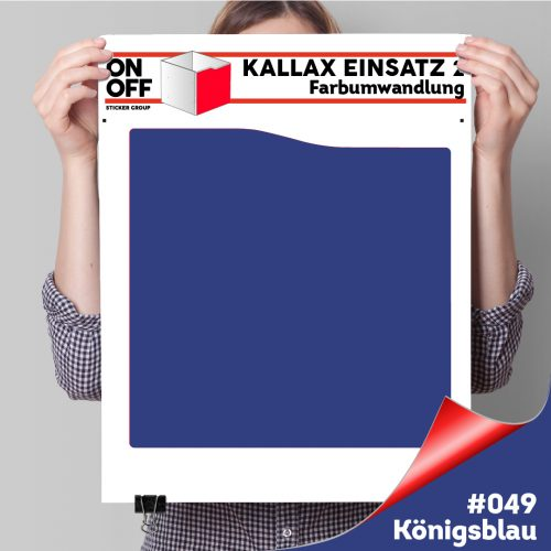 Kallax Einsatz 2 (Welle) #049 Königsblau