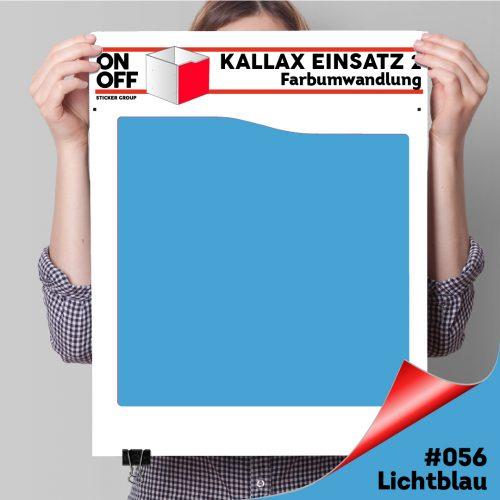 Kallax Einsatz 2 (Welle) #056 Lichtblau