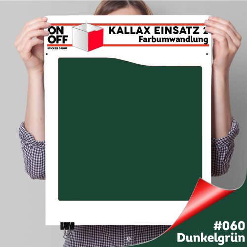 Kallax Einsatz 2 (Welle) #060 Dunkelgrün