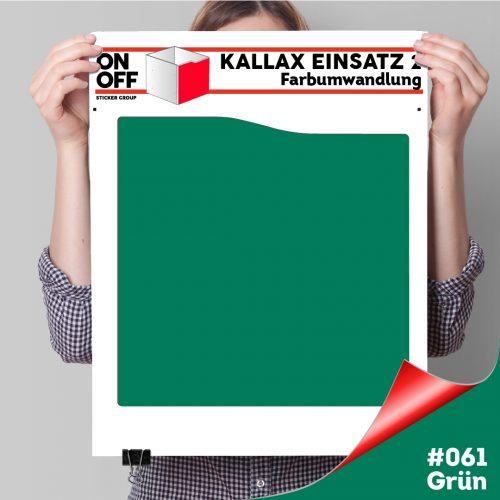 Kallax Einsatz 2 (Welle) #061 Grün