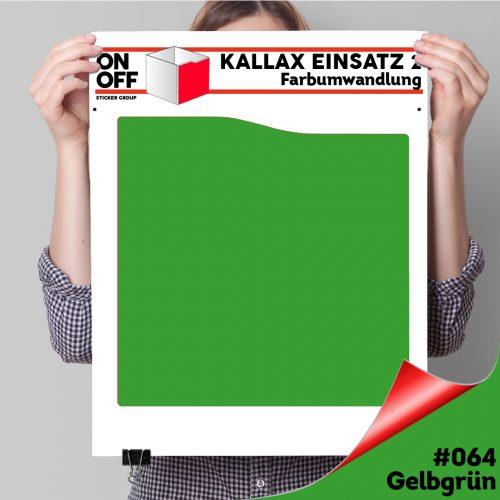 Kallax Einsatz 2 (Welle) #064 Gelbgrün