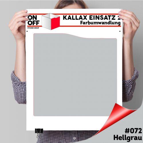 Kallax Einsatz 2 (Welle) #072 Hellgrau