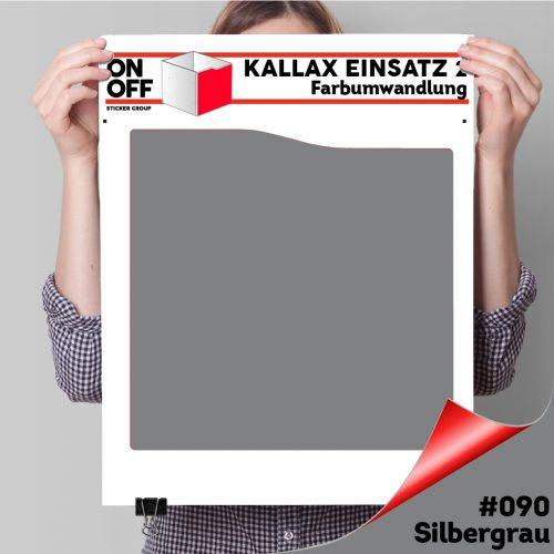 Kallax Einsatz 2 (Welle) #090 Silbergrau