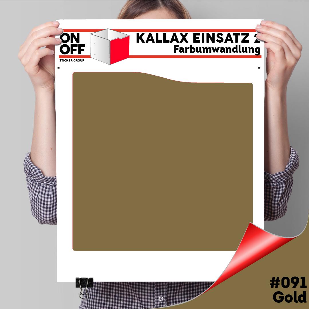 Kallax Einsatz 2 (Welle) #091 Gold