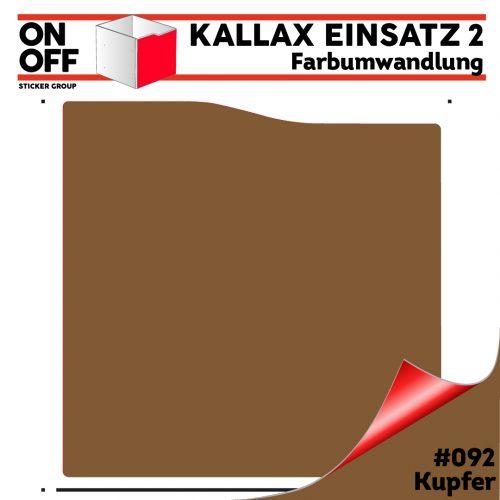 Kallax Einsatz 2 (Welle) #092 Kupfer