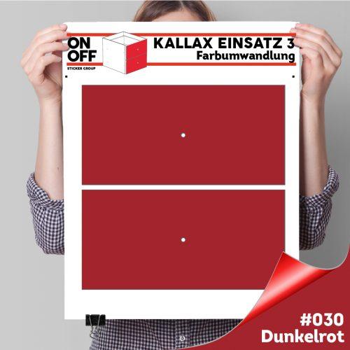 Kallax Einsatz 3 (2 Schubladen) #030