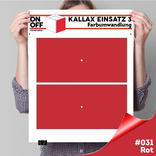 Kallax Einsatz 3 (2 Schubladen) #031