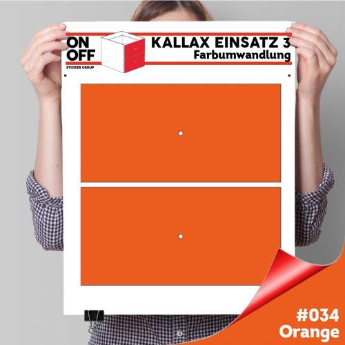 Kallax Einsatz 3 (2 Schubladen) #034