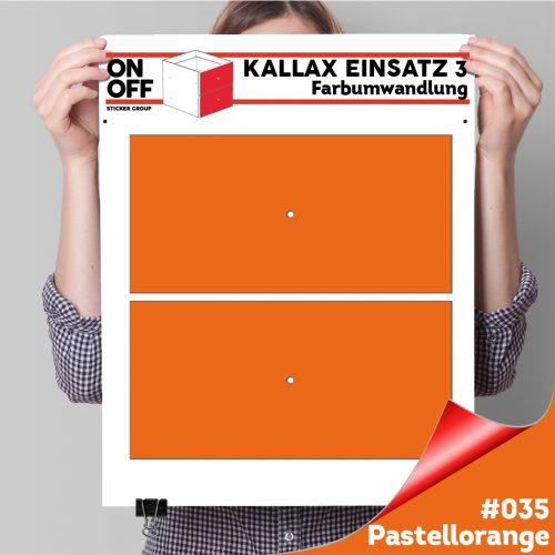 Kallax Einsatz 3 (2 Schubladen) #035