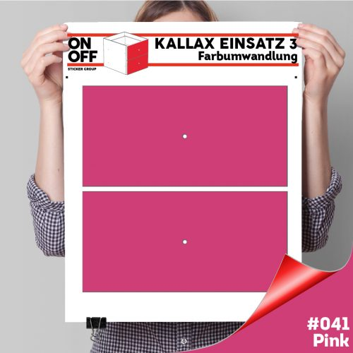Kallax Einsatz 3 (2 Schubladen) #041