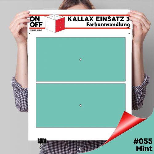 Kallax Einsatz 3 (2 Schubladen) #055