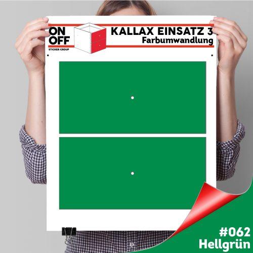 Kallax Einsatz 3 (2 Schubladen) #062 Hellgrün
