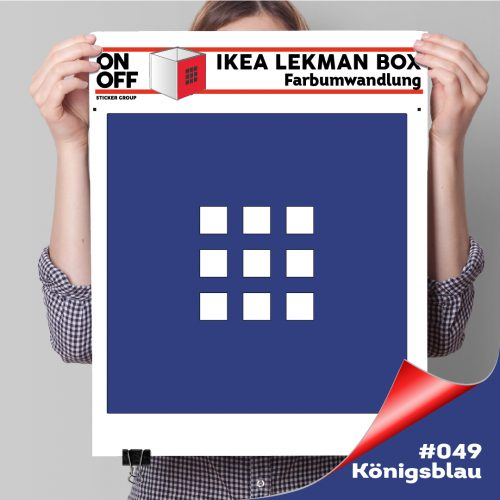Lekman Box (631) #049 Königsblau