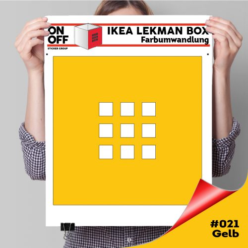 LekmanBox #021 Gelb