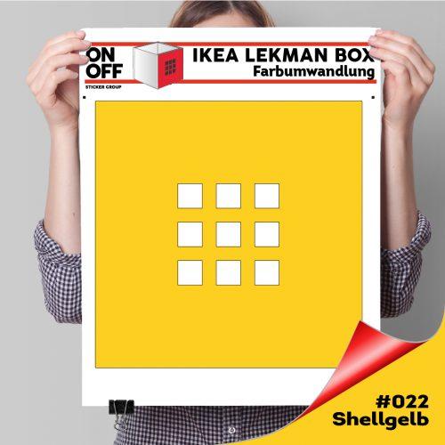 LekmanBox #022 Shellgelb