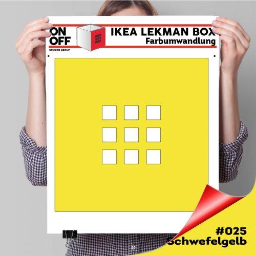 LekmanBox #025 Schweflgelb