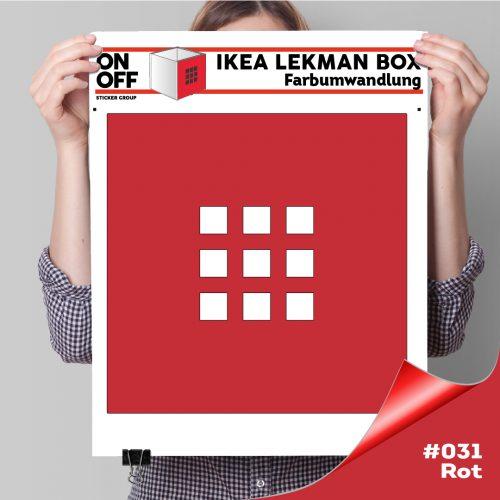 LekmanBox #031 Rot