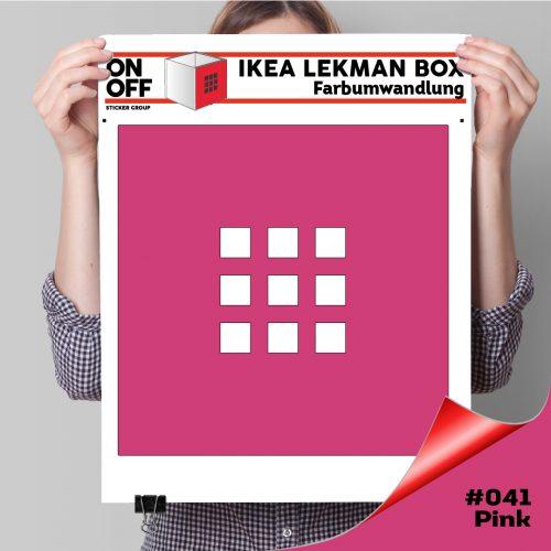 LekmanBox #041 Pink