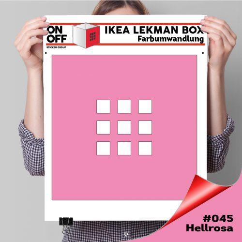 LekmanBox #045 Hellrosa