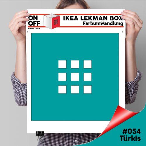 LekmanBox #054 Türkis