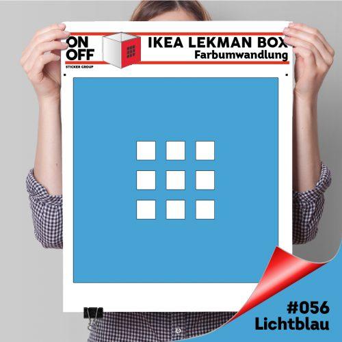 LekmanBox #056 Lichtblau